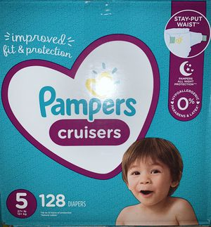 Pampers diapers size 5 Cruisers for Sale in Downey, CA