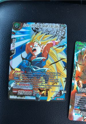 4 dragon ball z cards for Sale in Oceanside, CA