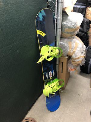Snowboard, bindings, helmet, and bag for Sale in Alexandria, VA