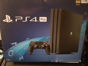 Ps4 Pro 4k HDR 1 TB for Sale in Long Beach, CA