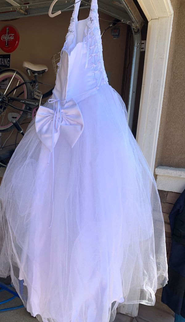 Flower girl dress first communion Size 14 for girls