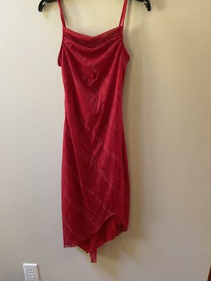 Size small My Michelle red sparkle high-low hem cocktail dress for Sale in Dublin, GA