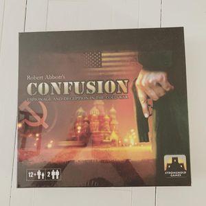 Confusion:Espinoage & Deception Board Game for Sale in Martinez, CA