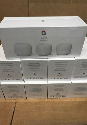 Google Nest WiFi router and 2 points for Sale in Watsonville, CA