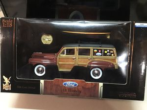 Die cast car. Wood panels and surfboard for Sale in Plainfield, IL