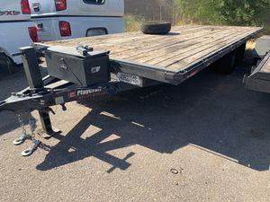 20x8 2016 Playcraft flatdeck trailer for Sale in Scottsdale, AZ