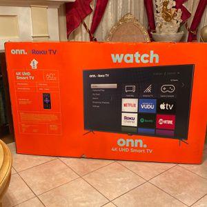 60 Inch Roku Tv Smart 4K for Sale in Allen Park, MI
