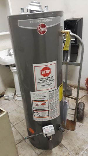 Brand new 40 gal hot water heater with manufacturer warranty for Sale in Detroit, MI