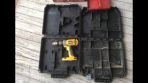 DEWALT drill and cases. for Sale in Staunton, VA