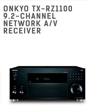 ONKYO TX-RZ1100 A/V RECEIVER for Sale in Beverly, MA