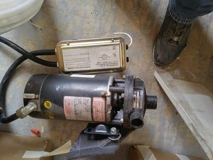 1hp electric motor/water pump for Sale in Taylorsville, UT
