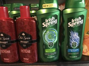 Old spice and irish spring for Sale in Concord, CA