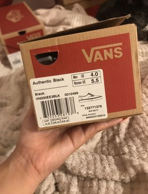 Vans Authentic Black for Sale in Wilmington, CA