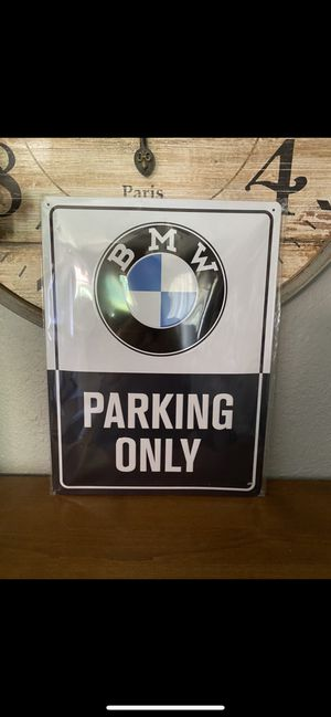 **Brand New** BMW PARKING ONLY Sign for Sale in Renton, WA
