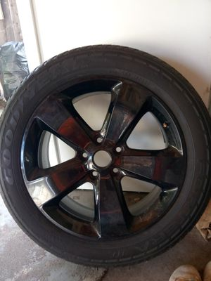 "20"" Black Rim for Sale in San Bernardino, CA"