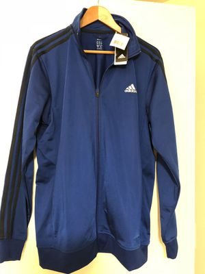 NWT Men's Large Adidas Track Jacket for Sale in Seattle, WA