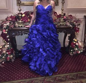Royal blue fancy party dress for Sale in Shelby charter Township, MI