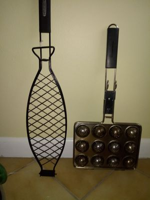Hush puppy & fish filets holder for the grill. for Sale in Lake Worth, FL