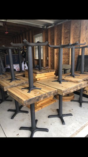 Rustic tables, restaurant quality. for Sale in Glastonbury, CT