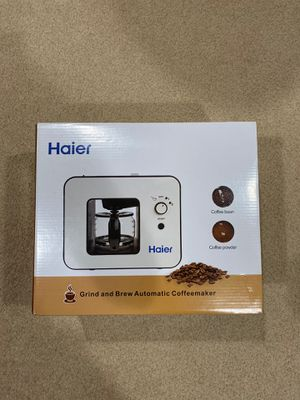 Haier 4 cup coffee maker and grinder in one for Sale in MD, US