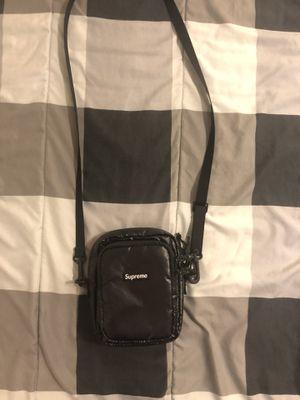 Supreme Black Shoulder Bag for Sale in Claremont, CA