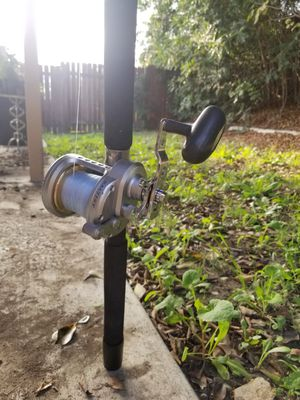 Daiwa Saltist Shimano Talvera Fishing Rod and Reel for Sale in West Covina, CA