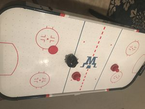 Air hockey table and foods ball table for Sale in Winter Haven, FL