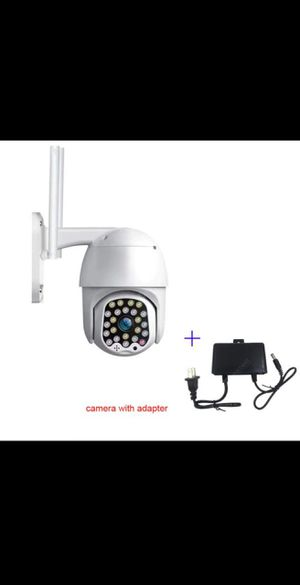 CP08-23 1080P Wifi PTZ camera Auto tracking SD card Slot for CCTV Home Security Camera - Camera with adapter 3.6mm for Sale in Rialto, CA