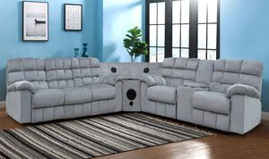3pc sectional in grey for Sale in Phoenix, AZ