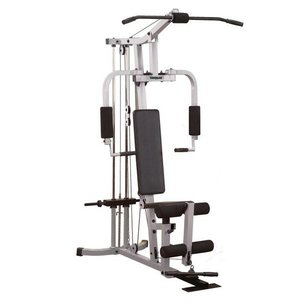 Body Solid Powerline Hardcore Home Weight Workout Gym
