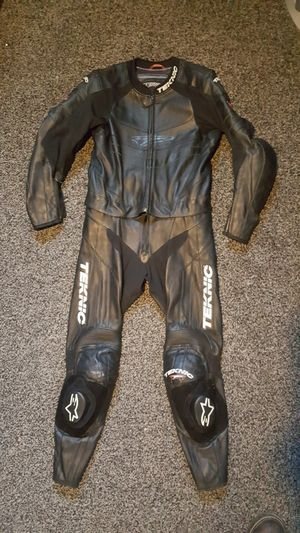 2-Piece Leather Motorcycle Suit Jacket Pants for Sale in CANAL WNCHSTR, OH