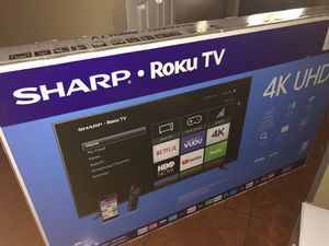 ROKU TV AND LG SOUND BAR !! for Sale in Del Valle, TX