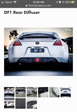 370z Carbon diffuser Fly1 Motorsport for Sale in Queens, NY