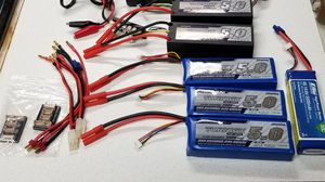 5 Lipo Batteries RC for Sale in Plant City, FL