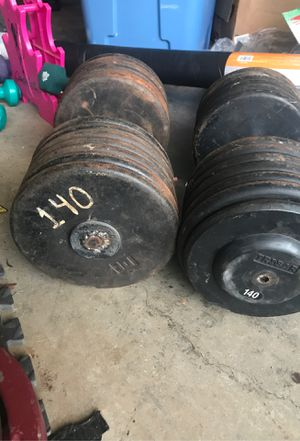Dumbbell Weights 140's for Sale in Johns Creek, GA