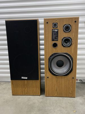 2 Onxyo Speakers Fusion AV for Sale in Los Alamitos, CA