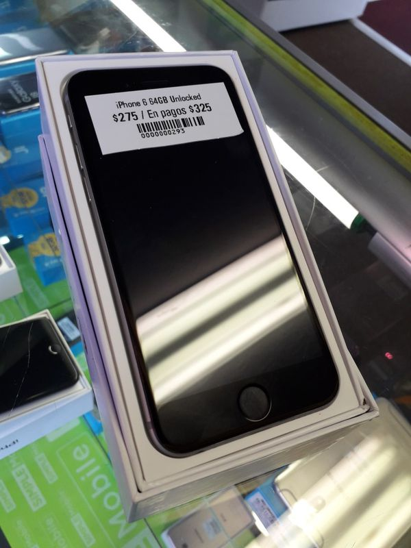 IPhone 6 64gb unlocked liberado