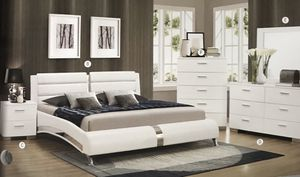 Brand new queen size bedroom set with mattress $1099 for Sale in Hialeah, FL