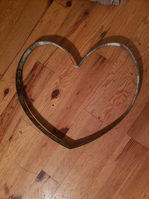 Wine barrel ring heart for Sale in Vallejo, CA