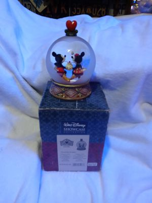 Walt Disney snow globe Sweetheart Sundays Jim Shore collection for Sale in Croydon, PA