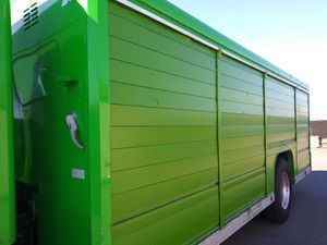 Metal storage container with shelves lockable for Sale in Sacramento, CA