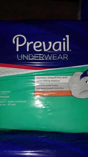 Prevail Underwear Adult Diapers Medium for Sale in Millville, NJ
