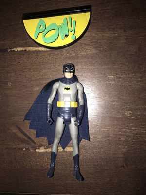 Mattel tv classics Adam west batman figure with stand for Sale in Glendale, CA