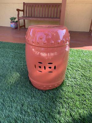 Ceramic Garden Stool (Patio Furniture) for Sale in Lakeside, CA