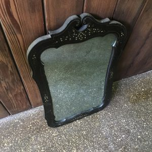 Vintage industrial mercantile antique saloon mirror portrait eclectic rustic for Sale in Adelphi, MD