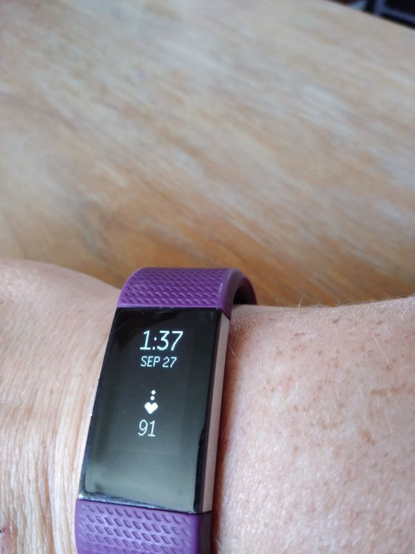 Fitbit charge 2 plum