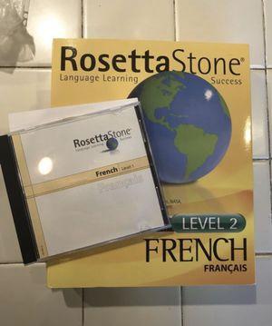 Brand new Rosetta Stone French, levels 1 & 2 for Sale in Davie, FL