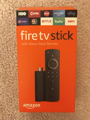Brand new sealed Amazon fire tv stick with Alexa Voice Remote for Sale in Arcadia, CA