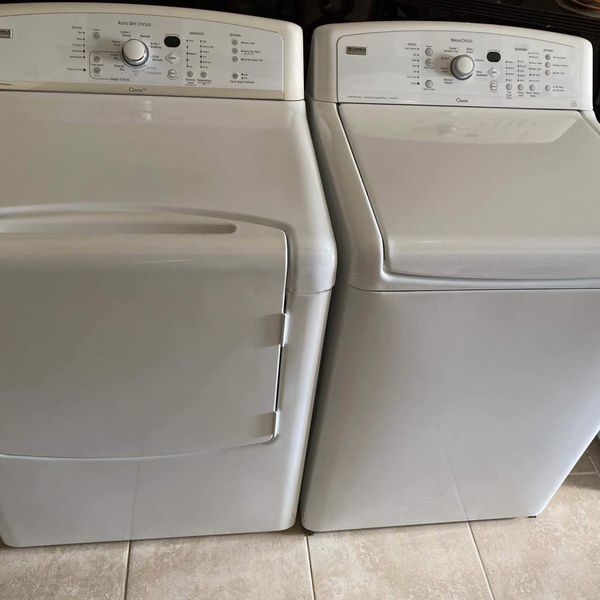 KENMORE ELITE OASIS HE XL WASHER & DRYER SET !!! ELECTRIC ⚡️ FREE DELIVERY & FREE INSTALL