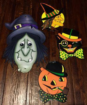 Vintage Style Biestle Halloween Die Cuts & Vintage Witch Die Cut for Sale in Tampa, FL